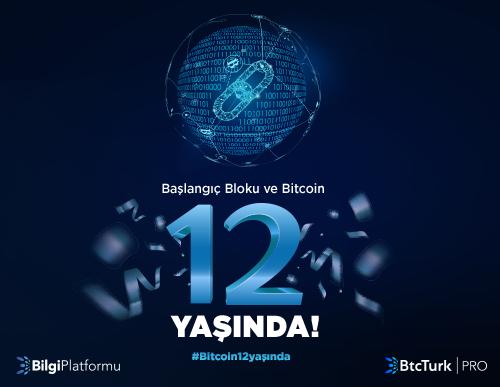Başlangıç Bloku ve Bitcoin 12 Yaşında!