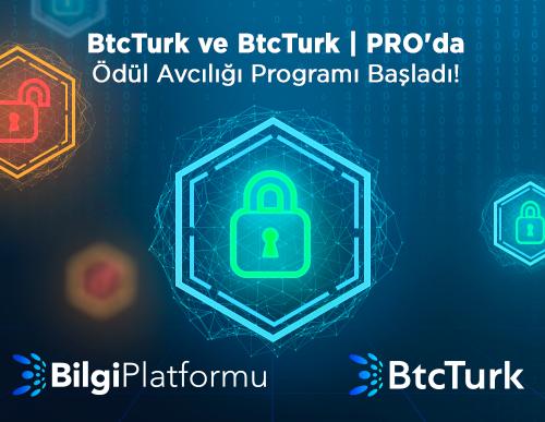 BtcTurk ve BtcTurk | PRO'da Ödül Avcılığı Programı Başladı!