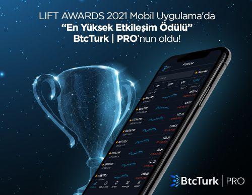 BtcTurk   PRO Mobil Uygulamasına Etkileşim Ödülü