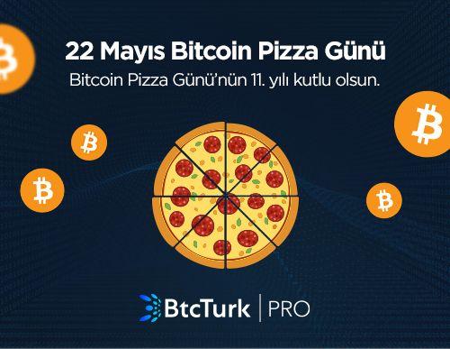 11. Bitcoin Pizza Günü Kutlu Olsun