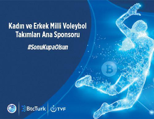 BtcTurk, Türkiye Kadın ve Erkek Voleybol Milli Takımlarının Ana Sponsoru Oldu