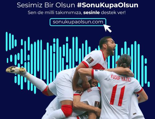 """BtcTurk, """"Türkiye'nin Sesi""""ni oluşturarak Millî Takıma taraftar coşkusu yaşatıyor"""